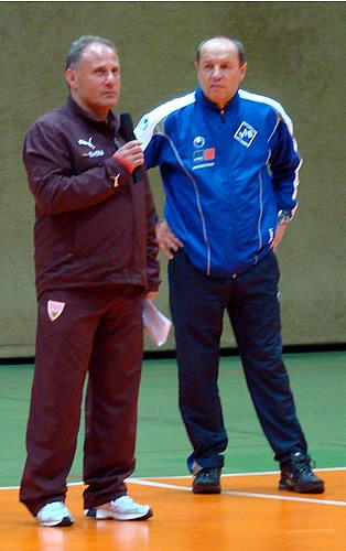 Thomas Albeck und Ewald Schmid
