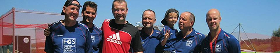 Trainer Team Fussballcamp Schmid